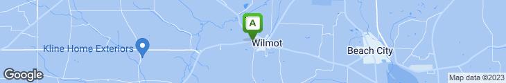 Map of Amish Door