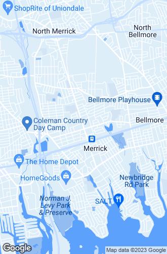 Map of Merrick