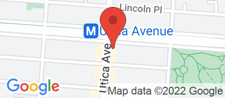 Branch Location Map - Chase Bank, Brooklyn - 1128 Eastern Parkway, 1128 Eastern Parkway, Brooklyn NY