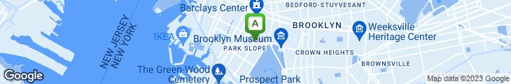 Map of LA Bagel Delight
