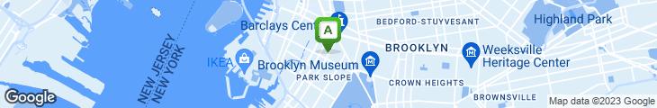 Map of Babouche Lounge & Restaurant