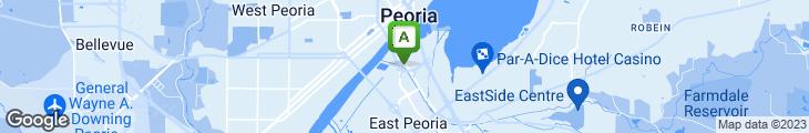 Map of Panera Bread