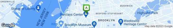 Map of Restaurant New Orleans