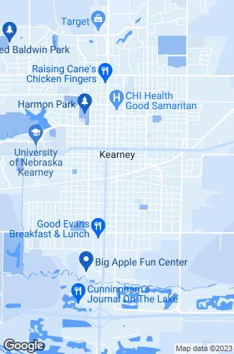 Map of Kearney