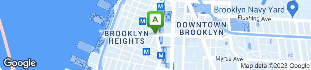 Map of Clinton Street Baking Company