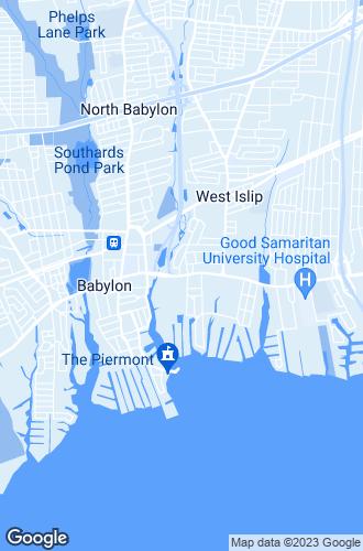 Map of West Islip
