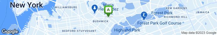 Map of Happy Fresh Taco