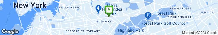 Map of Lee's Restaurant