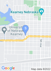 University of Nebraska Kearney map