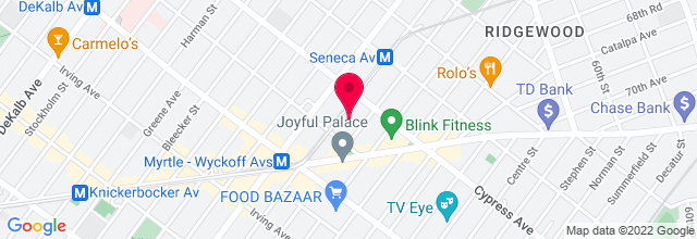 Map for K&K Super Buffet