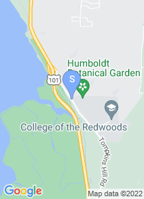 College of the Redwoods map