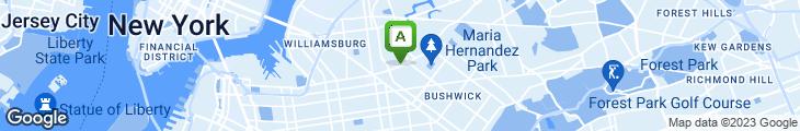 Map of 983-Bushwick's Living Room