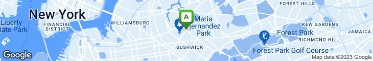 Map of El Ensueno Restaurant & Bar
