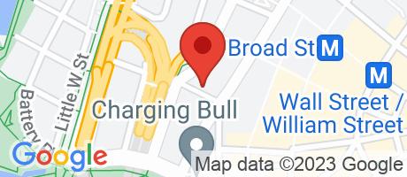 Branch Location Map - Bank of America, 29 Broadway Branch, 29 Broadway, New York NY