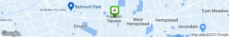 Map of Frankllin Square Restaurant