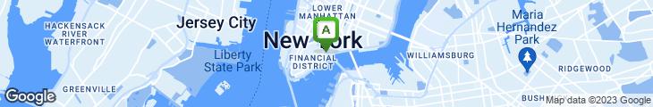 Map of Bridge Cafe
