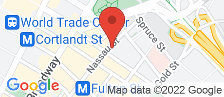 Branch Location Map - Abacus Federal Savings Bank, World Trade Center Branch, 116 Nassau Street, New York NY