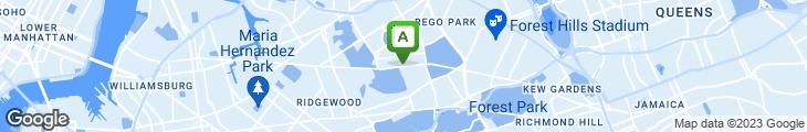 Map of Metro Diner