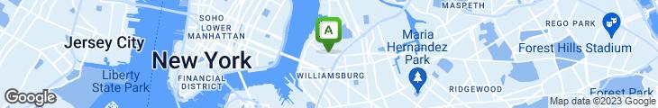 Map of Roebling Tea Room