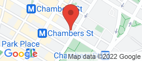 Branch Location Map - Capital One Bank, Broadway & Chambers Branch, 277 Broadway, New York NY