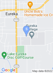 Eureka College map