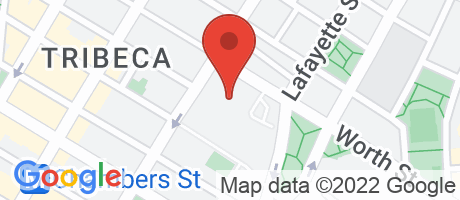 Branch Location Map - Justice Federal Credit Union, DHS - NY Branch #13, 26 Federal Plz Rm 5-105, New York NY