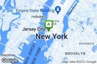 Map of Rosanjin Tribeca