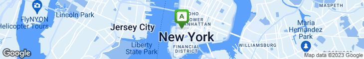 Map of Ninja New York