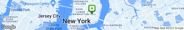 Map of Alias Restaurant