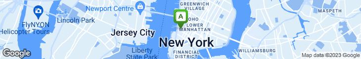 Map of Benvenuto Tribeca