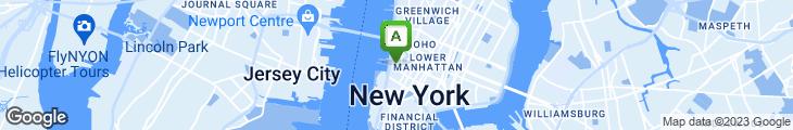 Map of Tribeca Pizzeria