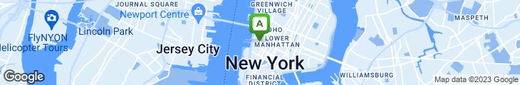 Map of Hudson Market