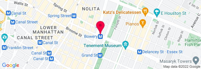 Map for The Bowery Ballroom
