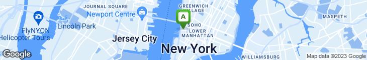 Map of Sushi Azabu