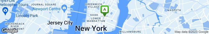 Map of Xpress Deli Pizza & Convenience Store