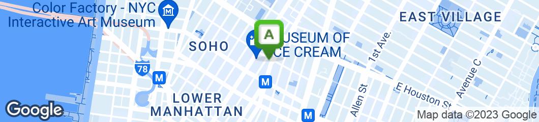 Map of SoHo Park