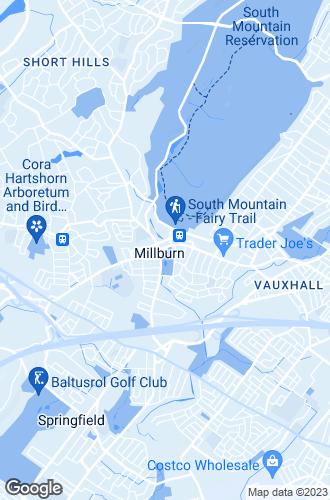 Map of Millburn