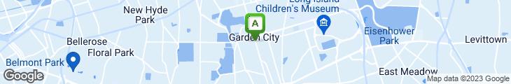 Map of Garden City Bistro