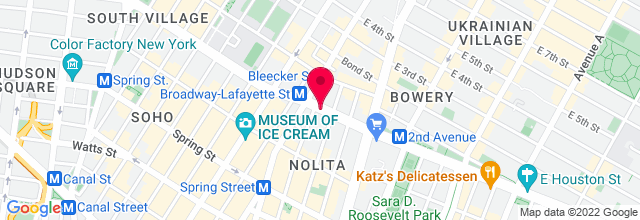 Map for Knitting Factory - Original Location