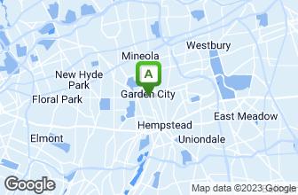 Map of Garden City Pizza