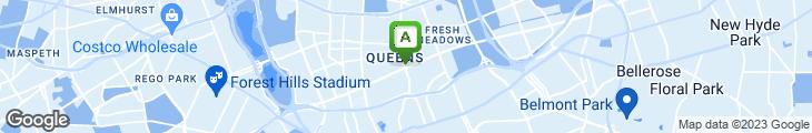 Map of Regina Cafe & Pizzeria