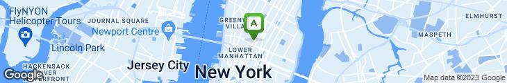 Map of Corner Shop Cafe