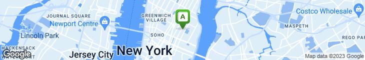 Map of Cafe Mogador