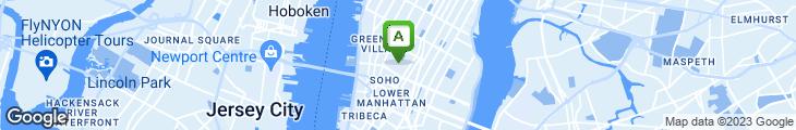 Map of Karen's Fresh Foods Cafe