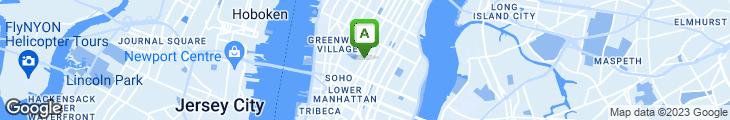 Map of Delion New York Deli
