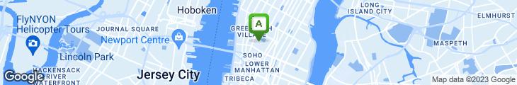 Map of Soho Sushi