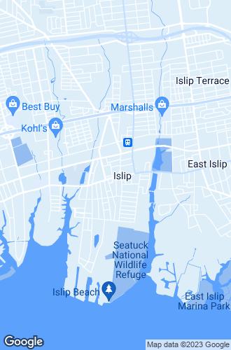 Map of Islip