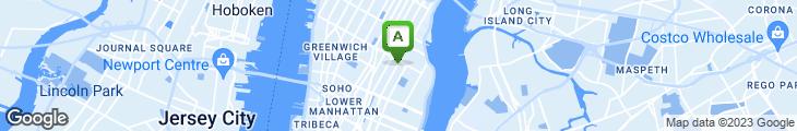 Map of The Original Christine's Restaurant