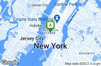Map of Washington Square Diner