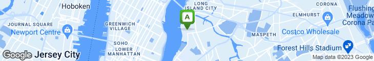 Map of Brooklyn Label